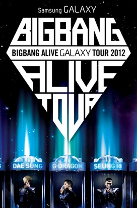 Big Bang Alive Galaxy Tour 2012