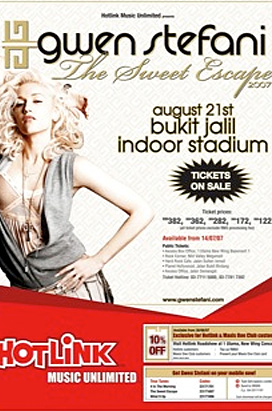 Hotlink presents Gwen Stefani