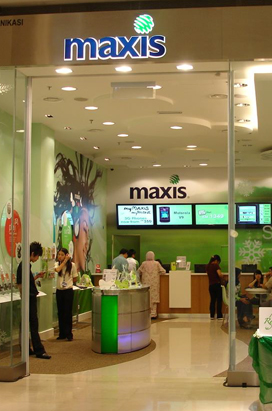 Maxis Retail Launch at Pavilion KL